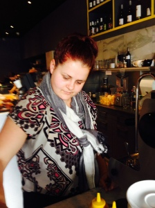 Our new Barista Lauren